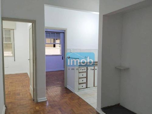 Imagem 1 de 27 de Apartamento Com 2 Dormitórios À Venda, 45 M² Por R$ 280.000,00 - Boqueirão - Santos/sp - Ap7919