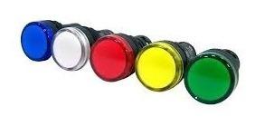 Sinaleira Led 24v Azul, Verde, Amarelo, Branco, Vermelho