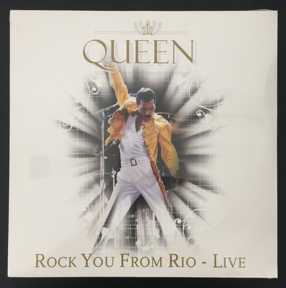 Lp Vinil Queen Rock You From Rio Live - Importado Lacrado!!!