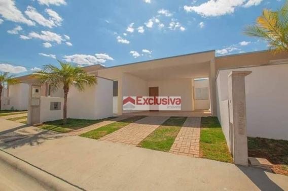 Casa Com 3 Dormitórios Para Alugar, 112 M² Por R$ 2.100,00/mês - Condomínio Villagio Vista Real - Paulínia/sp - Ca1546