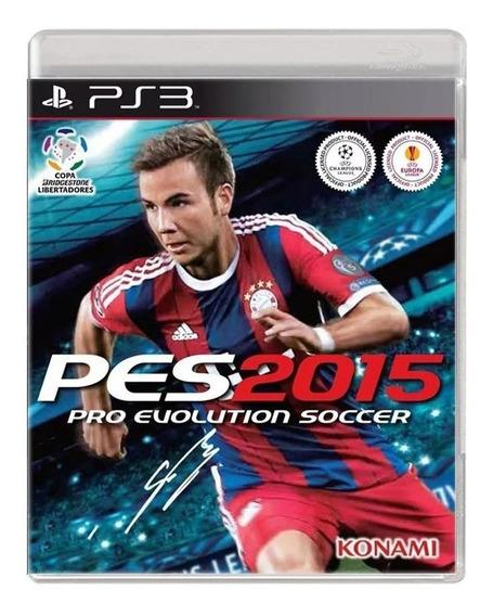 Pes 15 - Pro Evolution Soccer 2015 - Ps3 - Usado- Original