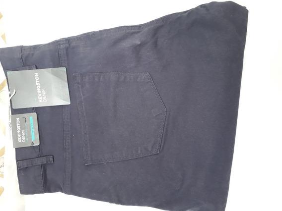 Pantalon Nuevo Azul Kevingston Clasico Denim Classic T. 54