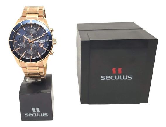 Relógio Seculus Masculino 23600gpsvra3