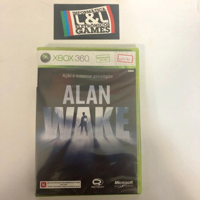Alan Wake Xbox 360 Lacrado Midia Fisica