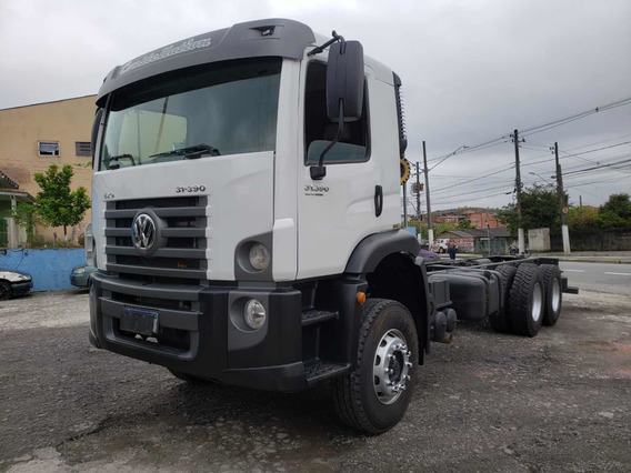 Volkswagen Vw 31390 6x4 2017 Chassi Mb/volvo/iveco/ford