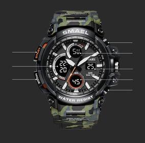 Relógio Esporte Militar Camuflado À Prova D