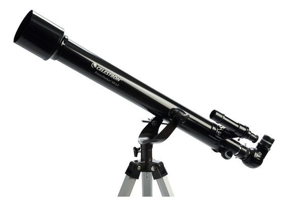 Telescópio Celestron Powerseeker 60x700 Ampliação 142x Tripé