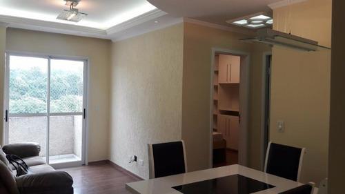 Imagem 1 de 30 de Apartamento À Venda, 56 M² Por R$ 290.000,00 - Vila São Luiz (valparaízo) - Barueri/sp - Ap0129