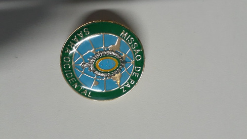 Dist. Metálico Missão De Paz Saara Ocidental 2 Unidades