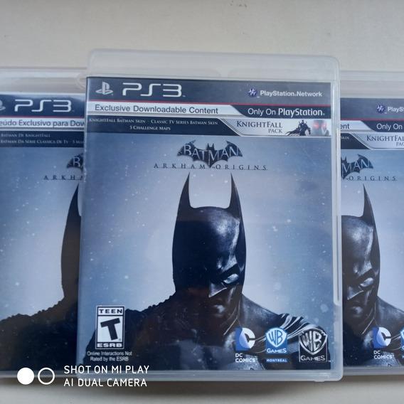 Jogo Ps3 Batman Arkham Originns Original Física Usado Semino