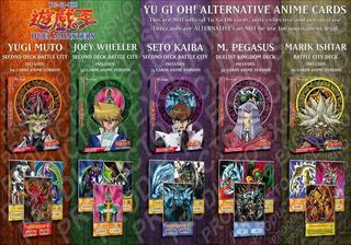 Yu Gi Oh Deck Cartas Version Anime