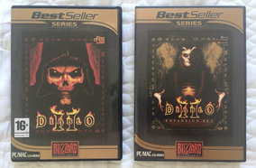 Diablo 2 + Expansion Set Expansão Lord Blizzard Pc Novo