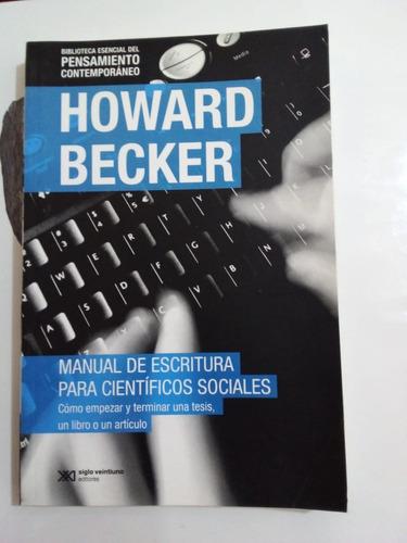 Manual De Escritura - Becker - Siglo Xxi 2014