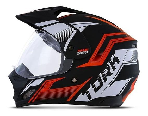 Capacete Motocross Th1 New Adventure Masculino Pro Tork