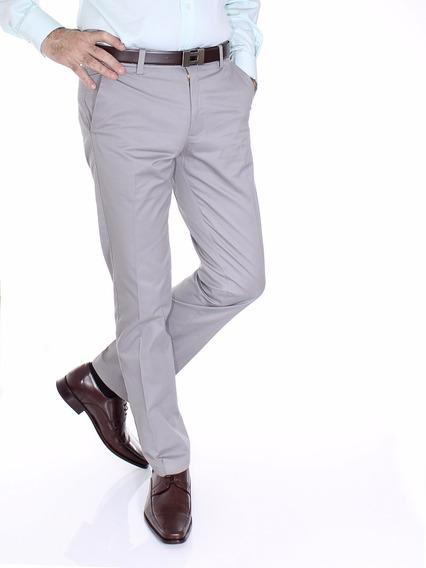Pantalon Gabardina Algodón Premium Jean Cartier Entallado