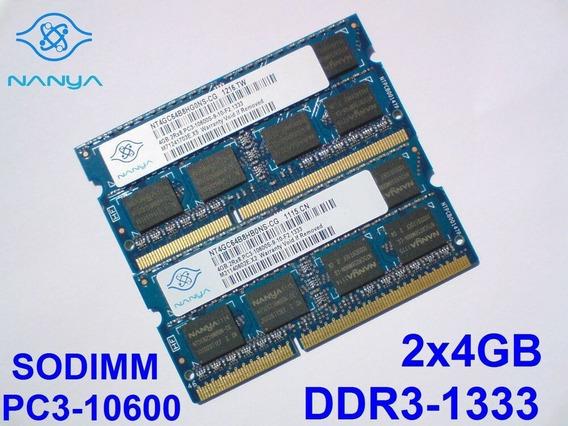 Memoria Dell 8gb Vostro 3300 3450 3500 3550 3700 - 2 X 4 Gb