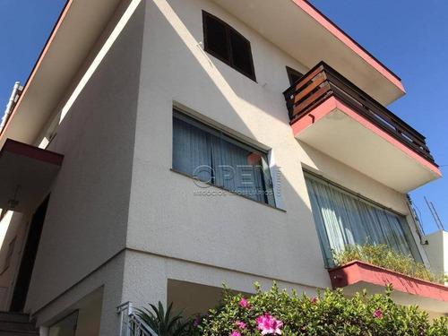Imagem 1 de 13 de Sobrado Com 5 Dormitórios, 480 M² - Venda Por R$ 2.800.000,00 Ou Aluguel Por R$ 9.000,00/mês - Vila Bastos - Santo André/sp - So1330