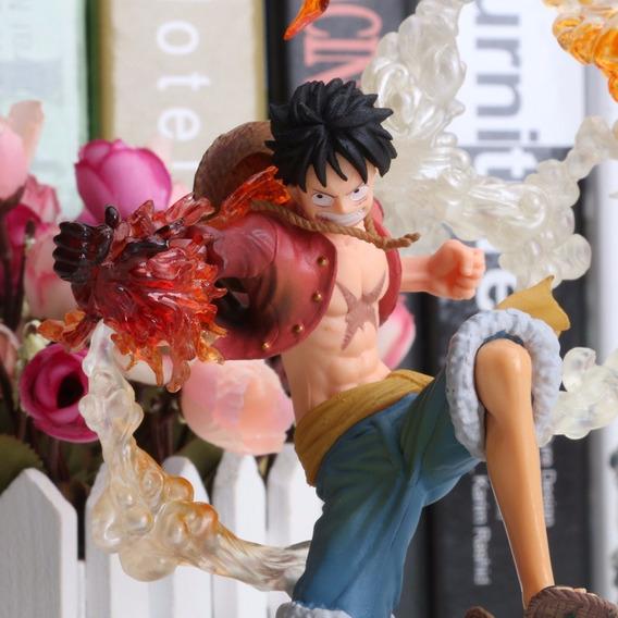 Figura De Ação One Piece Monkey D Luffy Batalha