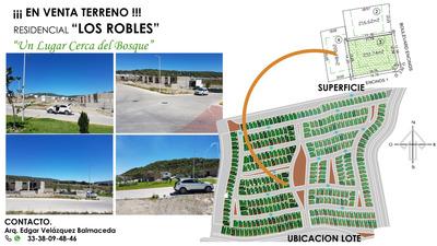 Terreno En Venta Zona Residencial Los Robles