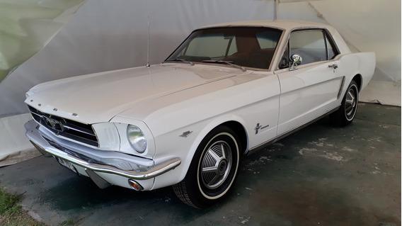 Mustang 1965 Gt Clasico De Clasicos De Exhibicion Impecable