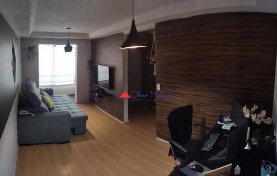 Apartamento Com 2 Dormitórios Para Alugar, 60 M² Por R$ 850,00/mês - Bandeiras - Osasco/sp - Ap7420