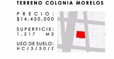 Morelos, Estacionamiento, Venta, Venustiano Carranza, Cdmx.