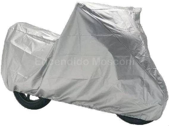 Funda Cubre Moto Impermeable Fácil Colocación