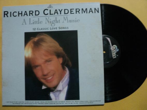 Lp Richard Clayderman A Little Night Music- Novo Frete 15,00