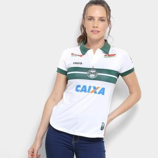 Camisa Coritiba I 2018 S/n° C/patrocínio - Jogador 1909 Feminina