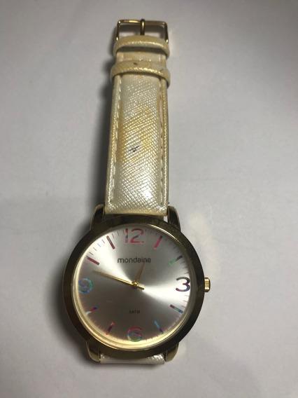 Relógio Feminino Mondaine -50% Off Vitrine Mod 12052lpmvdh1