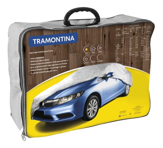Capa Impermeavel Para Carros / Auto Tamanho P Tramontina