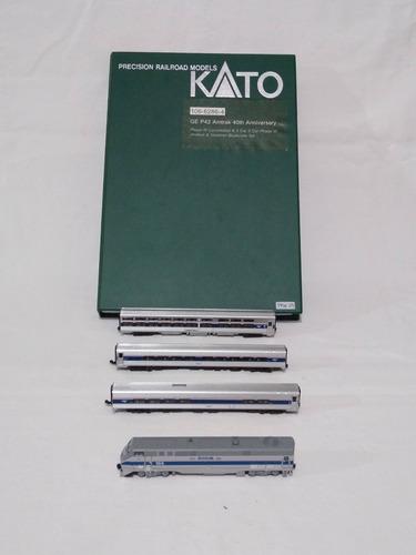 Imagen 1 de 9 de Nico Set Ge P42 Antrak 3 Coch Art.106-6286-4 Kato N (pmk 02)