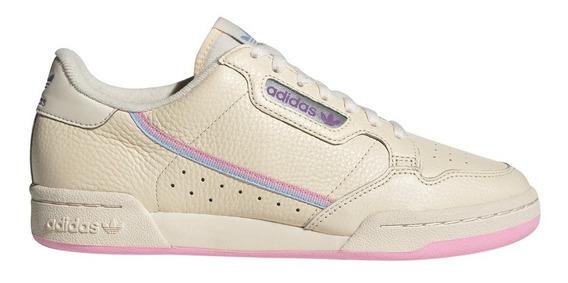 Zapatillas adidas Continental 80 Tiza De Mujer