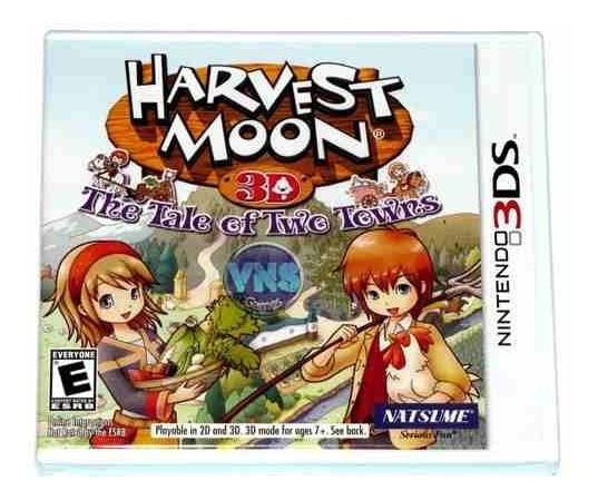 Harvest Moon 3d The Tale Of Two Towns - Americano - Lacrado