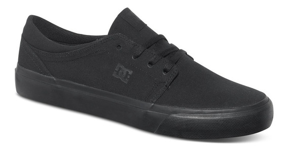 Tênis Dc Shoes - Trase - Inteiro Preto !!! Original!!!