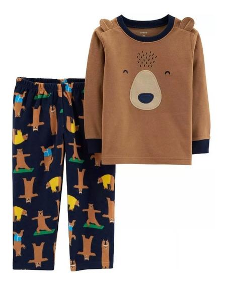 Pijama Carters Nuevo Para Frío Talla 2t