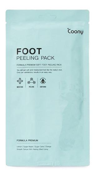 Máscara De Pies Coony Peeling Pack Formula Premium