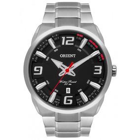 Relógio Orient Prateado Masculino Analógico Mbss1359p2sx