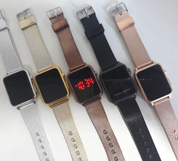 Lote C/10 Relógios Digital Feminino Atacado Revenda Confira