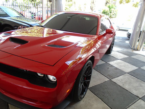 Dodge Challenger 6.2 Srt Hellcat Dual Carbon Stripes Mt