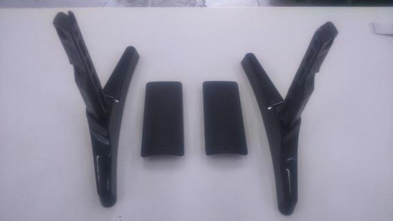 Base Tv Samsung Un40j5200ag + Acabamento + Parafusos