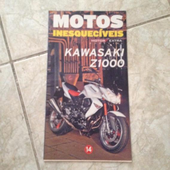 Jornal Motos Inesquecíveis 14 Motor Extra Kawasaki Z1000