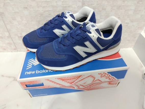 Tênis New Balance 574 Azul-marinho - 100% Original