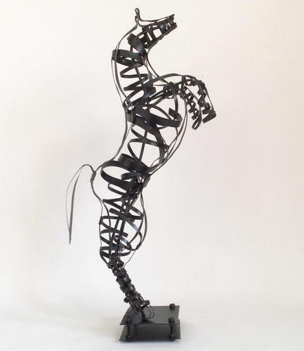 Esculturas De Caballos De Hierro - Arte Y Decoración