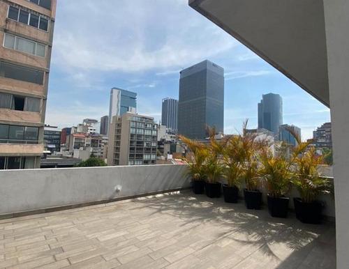 Imagen 1 de 12 de Venta Ph Con Rooftop Col. Cuauhtémoc Apa_1912 Cw