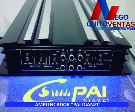 Amplificador De Sonido Para Carro 1600w Potente 4 Canales