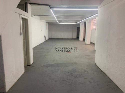 Galpão Para Alugar, 120 M² Por R$ 2.900,00/mês - Mooca - São Paulo/sp - Ga0004