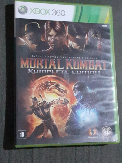 Mortal Kombat 9: Komplete Edition Xbox 360 Usado