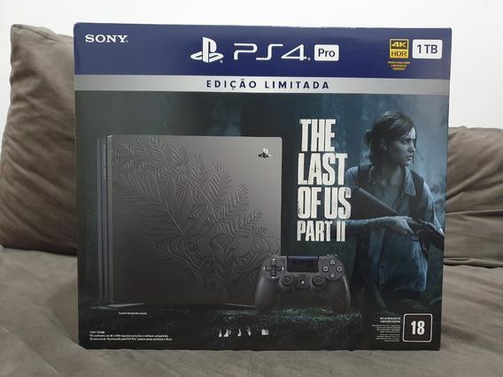 Console Ps4 Pro 4k 1tb Edição Limitada The Last Of Us 2