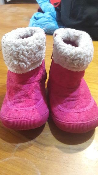 Botas Mimo&co Talle 19 Color Rosa Para Nena